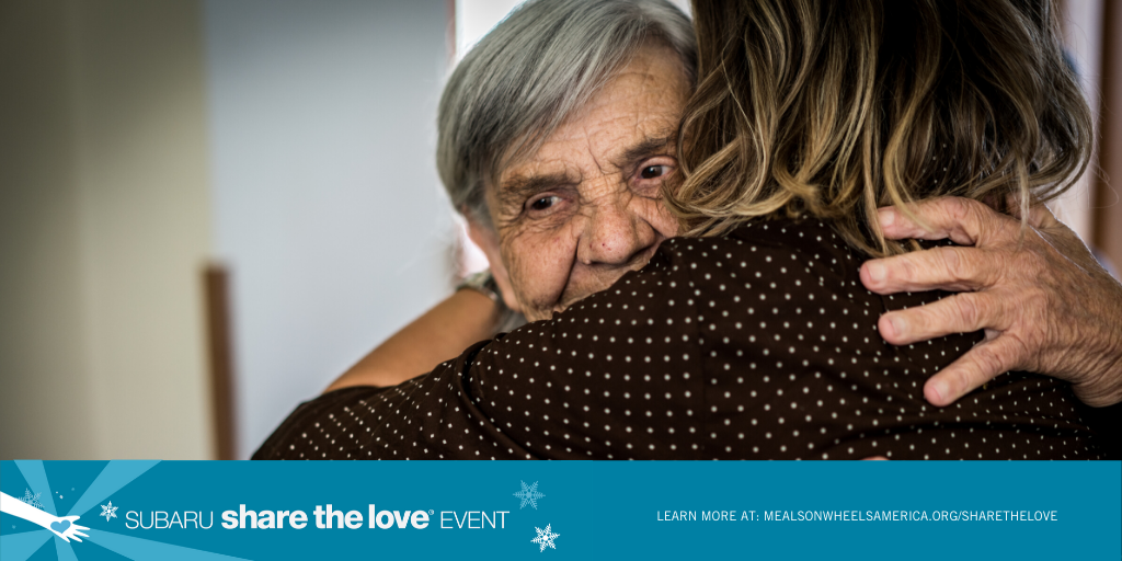 "Support Meals on Wheels During this Year's Subaru ""Share the Love"" Event!"