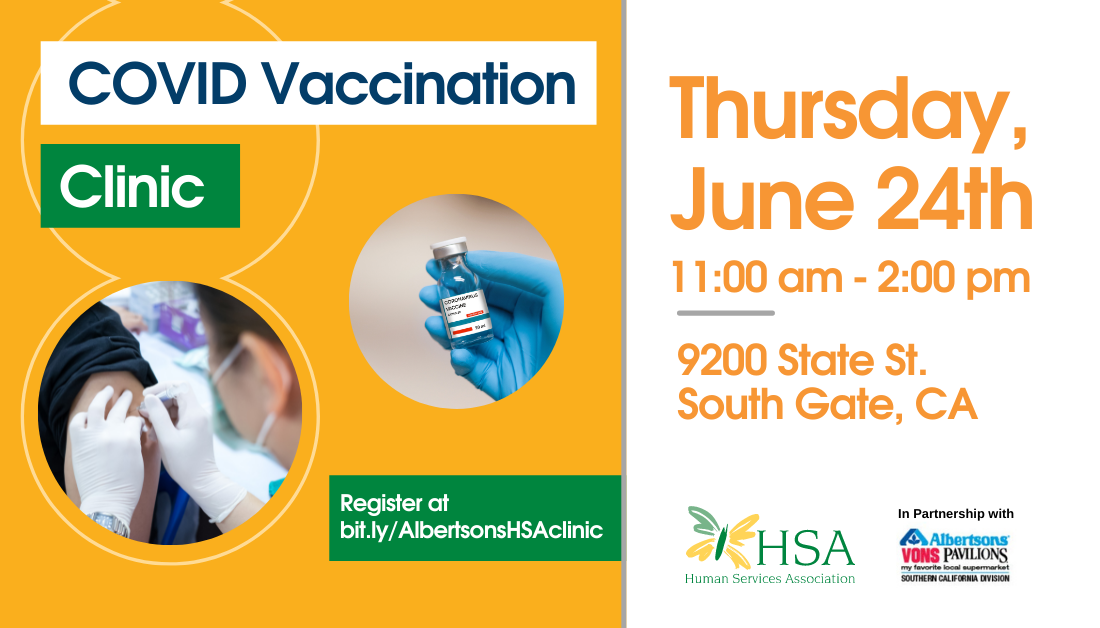 HSA to Host COVID Vaccination Clinic in Partnership with Albertsons