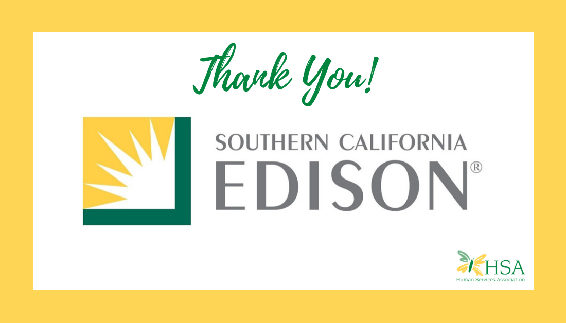 HSA Awarded $5,000 by SoCal Edison for Safety Awareness Campaign