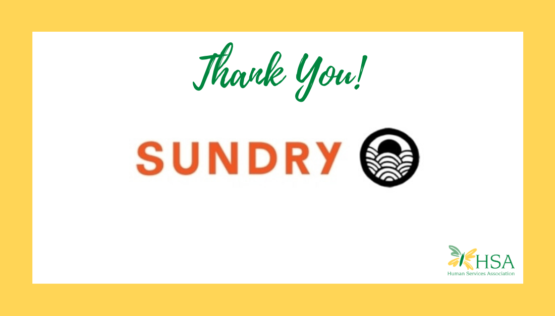 HSA Receives Donation of Face Masks from Sundry Clothing
