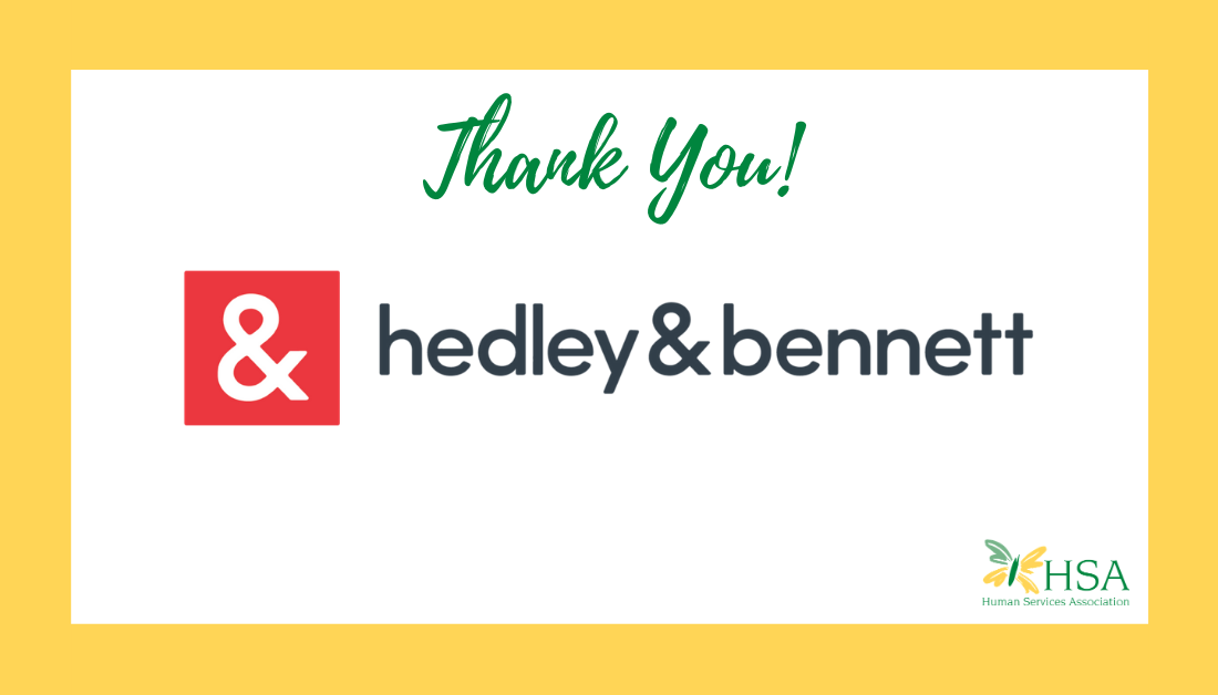 HSA Receives Donation of Face Masks from hedley & bennett